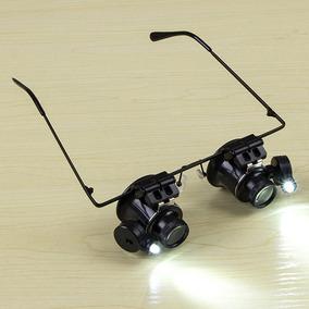 Tipo Óculos 20x Binocular Lupa Relógio Reparação Ferramenta