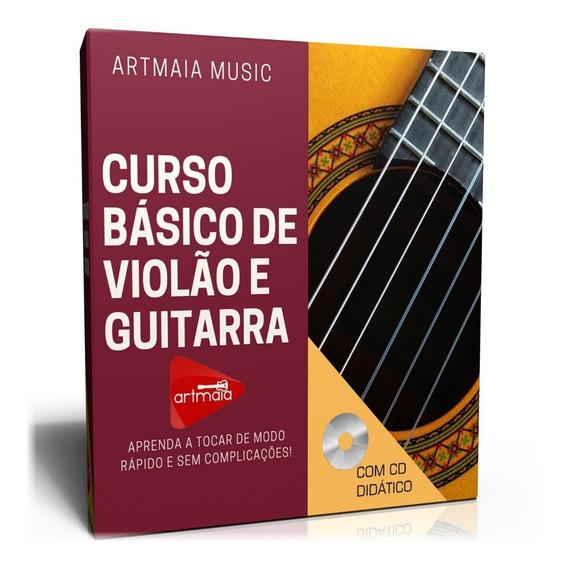Curso Básico De Violão E Guitarra Apostilado - Frete Grátis