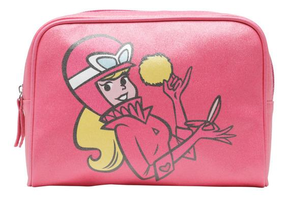 Necessaire Bolsa Penélope Charmosa Glitter Hanna Barbera