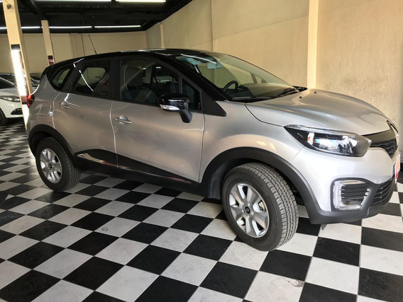 Renault Captur Life 1.6 Prata 2019/2019 Flex Aut