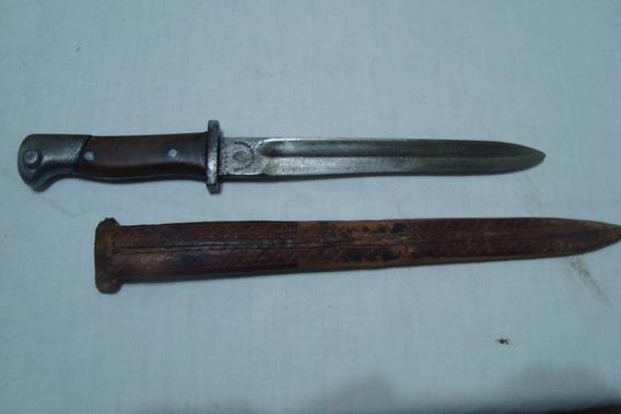 Antiguo Cuchillo-bayoneta De Comando Solingen, Miralo