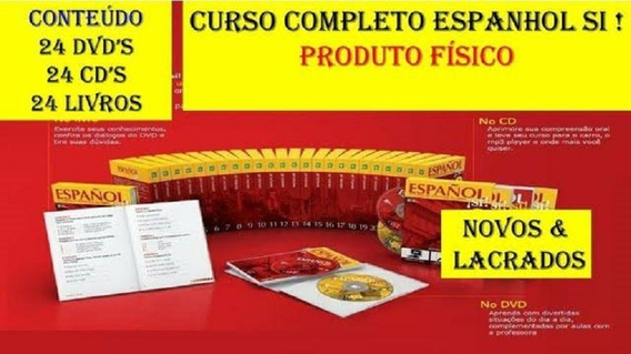 Curso Completo De Espanhol - 24 Volumes - Em Dvds