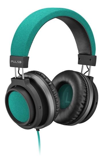 Fone De Ouvido Headphone Pulse Ph227 P2 Auxiliar Verde