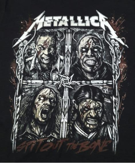 Camiseta Plus-size Metallica Zombie Chemical Czc1859