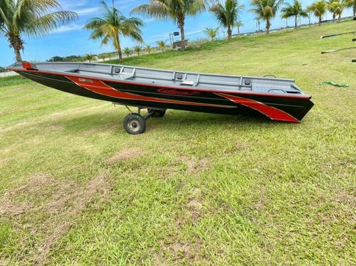 Embarcação De Alumínio Calaça Mod Flash Bass 700 De 7 M