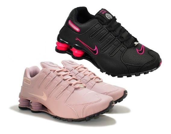 Tênis Nike Sxhox Nz 4 Molas Liquida Lot Promoção Kit 2 Pares
