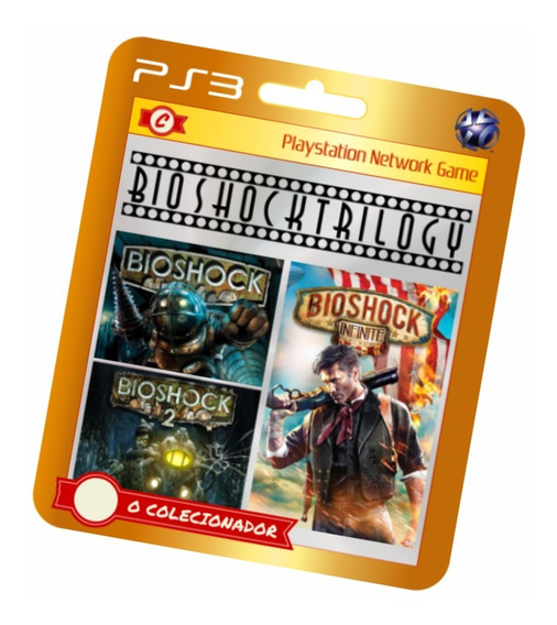 Trilogia Bioshock 1 2 Infinite Em Oferta!!