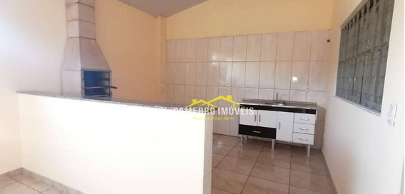 Casa Com 2 Dormitórios Para Alugar Por R$ 850,00/mês - Parque Planalto - Santa Bárbara D