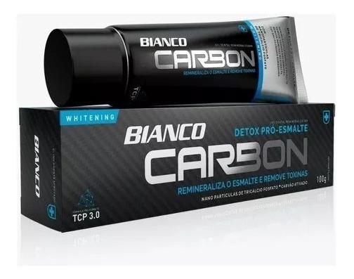 Cr. Dental Bianco Carbon P/branqueamento Carvão Ativado100g