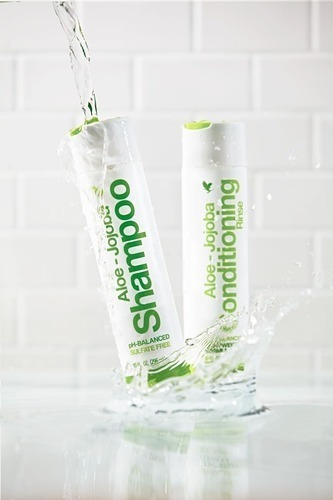 Shampoo E Conditioning De Aloe-vera Jojoba!!!babosa 02 Unid.