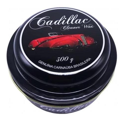 Imagem 1 de 6 de Cera De Carnaúba Cleaner Wax Cadillac Gold 300g Alto Brilho