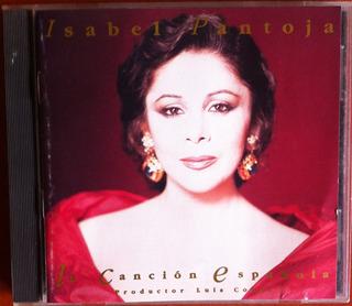 Isabel Pantoja. Cancion Española. Cd Original, Usado