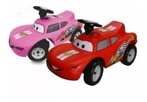 Carro Montable Andadera Cars Rayo Mcqueen