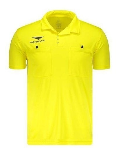 Camisa Para Arbitros Futebol Penalty V I Amarela