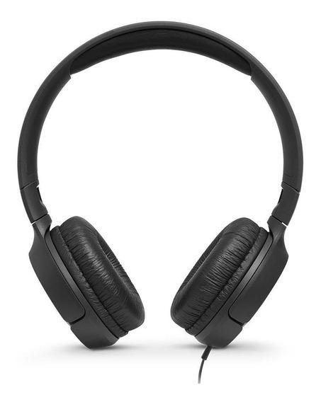 Headphone Jbl Tune500 Preto Com Fio Original