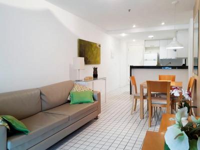 Apartamento 1 Suite Com Vista Para A Lagoa - Ap0350