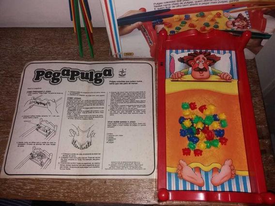 Jogo Pega Pulga Estrela Anos 80 Funcionando Com Manual