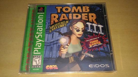 Tomb Raider 3 Ps1 Greatest Hits Original