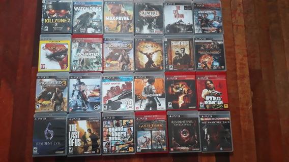 Playstation 3 Super Slim Com 31 Jogos Originais