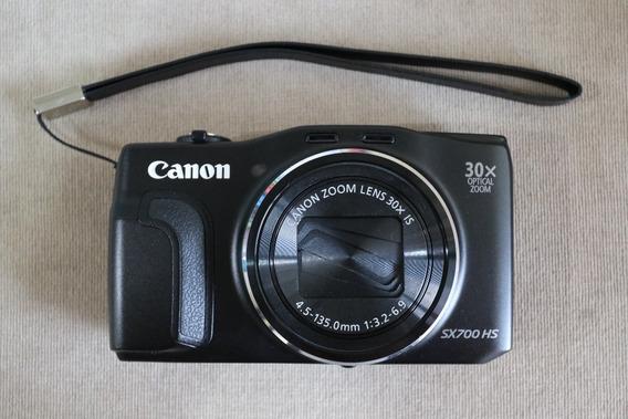Câmera Fotográfica Digital Canon Powershot Sx700 Hs Zoom 30x