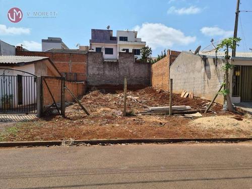 Terreno Com 200 M² Para Venda Em Cascavel - Pr - Te0046