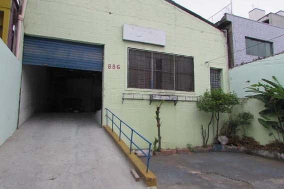 Galpão Para Alugar, 240 M² Por R$ 5.600/mês - Vila Prudente - São Paulo/sp - Ga0170