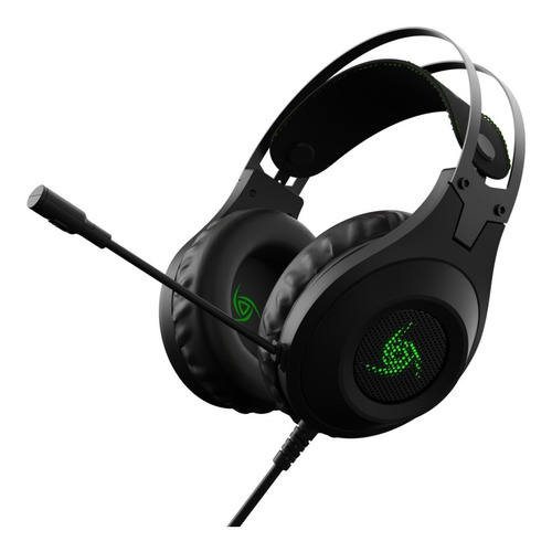 Auricular Headset Gamer Vsg  Kuiper 3.5 Mm Led Microfono Pc
