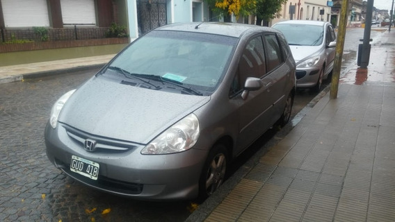 Honda Fit Ful 2008 115.000 Km Unico Dueño Services En Conces