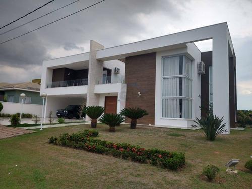 Casa Com 4 Quartos À Venda, 400 M² Por R$ 2.100.000 - Terras De Mont Serrat - Salto/sp - Ca11551