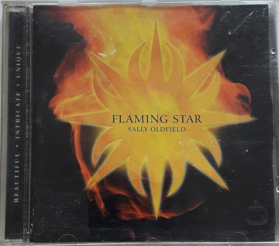 Sally Oldfield Cd Flaming Star 2001 Original