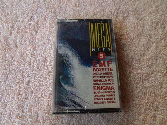 Mega Hits 5 - Fita K7 (original Nova Lacrada De Fabrica)