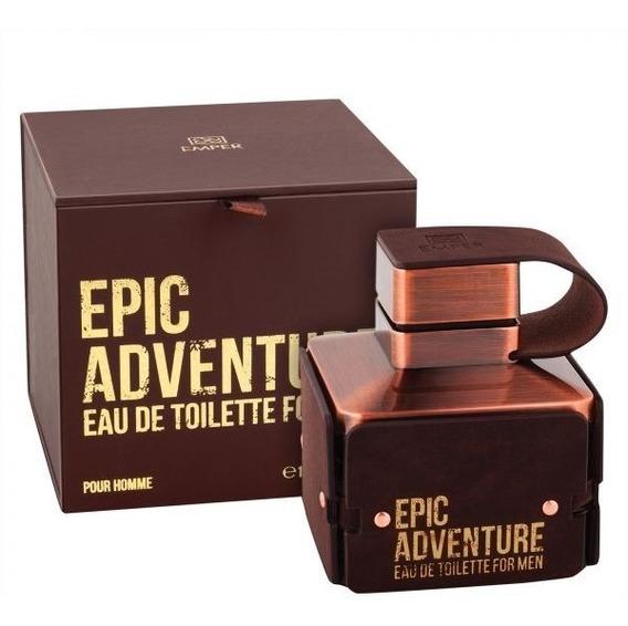 Perfume Emper Epic Adventure Pour Edt Masculino 100ml