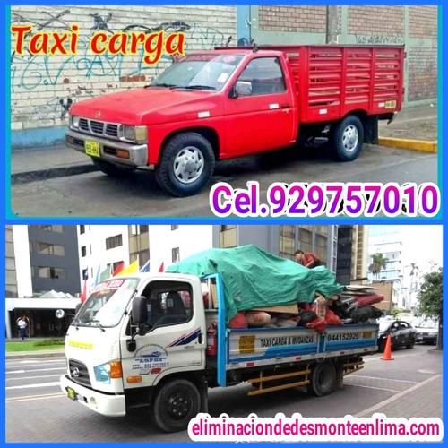Eliminación De Desmonte // Taxi Carga Y Mini Mudanzas//