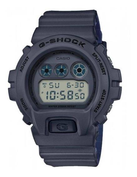 Relógio Casio G-shock Dw-6900lu-8 Digital Cinza