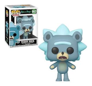 Figura Funko Pop Animation R&m - Teddy Rick 662 Mejor Precio