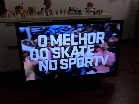 Tv Pfl3707d/78 Funcionando Barato C Detalhe Leia O Anuncio