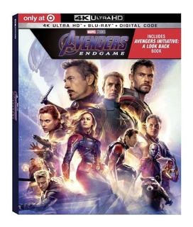 Avengers Endgame 4k + Blu-ray + Digital Hd Target Exclusive