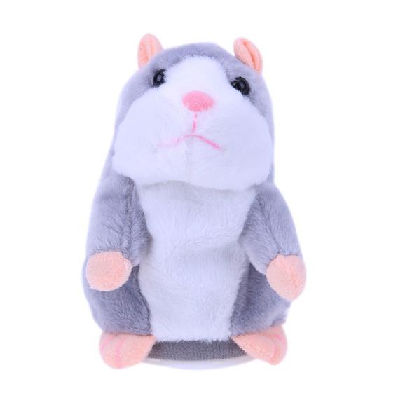 Falando Hamster (cor Cinza) Brinquedo Para Crianas Bebe