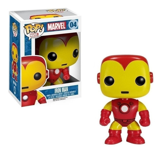 Muñeco Funko Pop Iron Man Marvel 04 Original