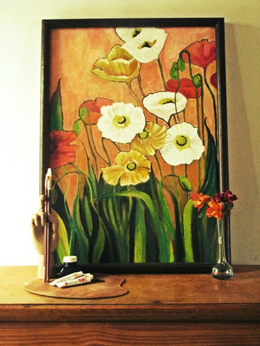 Cuadro Flores Decorativas