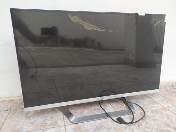 Tv LG 3d 42lm7600 Tela Quebrada