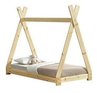 Tipi Base De Cama Teepee Montessori Individual