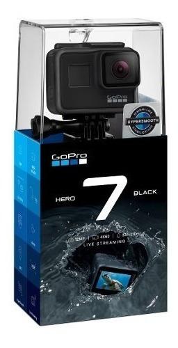 Filmadora Gopro Hero 7 Black 12mp Wi-fi 4k Original +nf