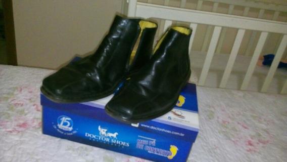 Botina Doctor Shoes Semi Nova