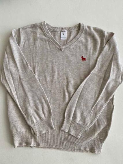 Sweater Varón Cárter Talle 6, Poco Uso
