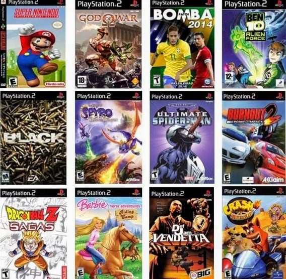52 Jogos Playstation 2 Ps2