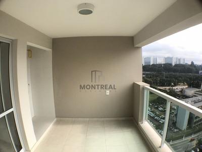 Apartamento A Venda No Bairro Santo Amaro Em São Paulo - - Pbc68-1