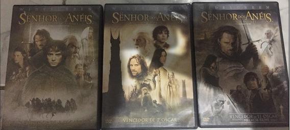 Dvd Trilogia Senhor Dos Anéis Todos Duplo Original
