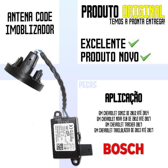 Antena Code Imoblizador Nova S10 De 2013 - F00hj00493