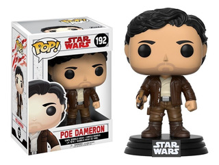 Funko Pop Poe Dameron 192 Star Wars Muñeco Original